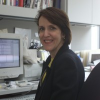 05913499: TIME reporter Karen Tumulty in her office.